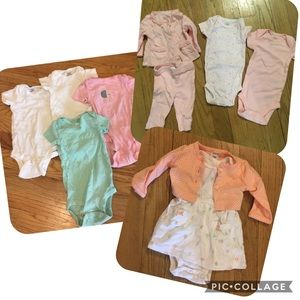 Newborn baby clothes set of 8 pieces